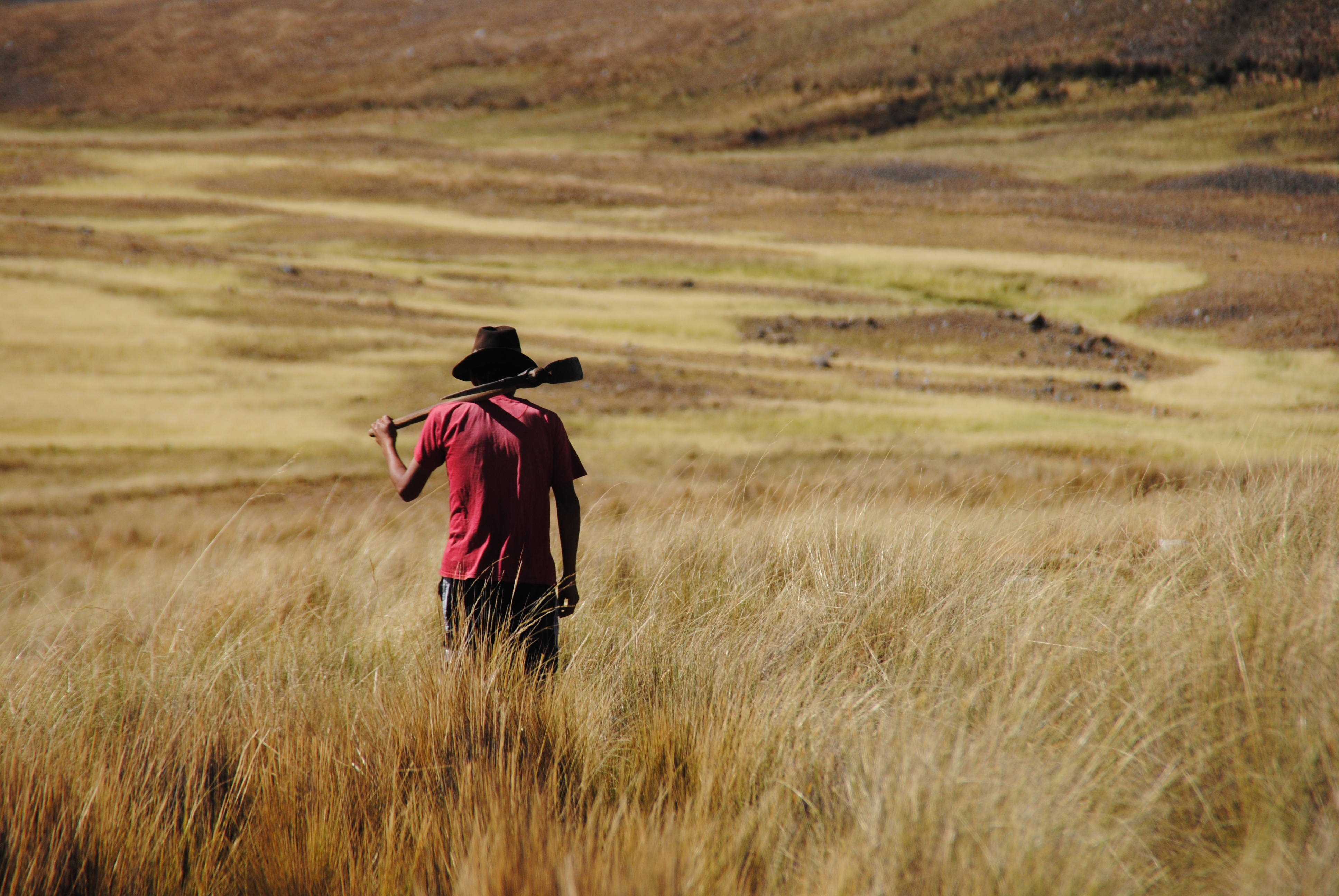 Read more about: The struggle for water in the Andes Mountains